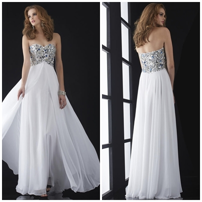 CHIFFON SLEEVELESS BACKLESS A-LINE NATURAL LONG PROM DRESSESps